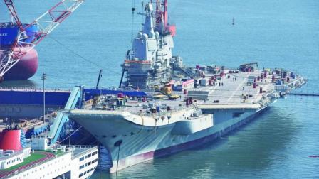 6万吨巨舰真容曝光, 看到后国人放心了, 真实战斗力超过辽宁舰
