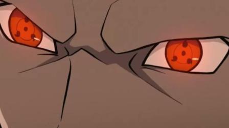 火影忍者: 六道仙人杀弟开轮回眼, 转眼拿仙符复活羽村