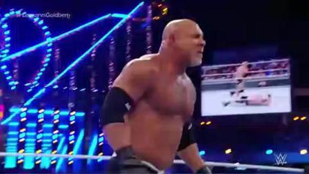 WWE 战神高柏上来就是4个飞冲肩! 还是输了比赛 到底怎么回事?