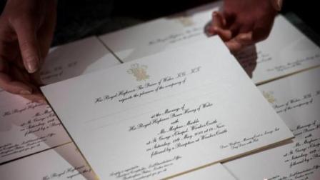八卦:伦敦工作室印制哈里王子大婚请帖制作过程公开
