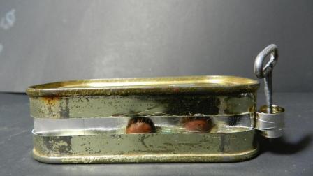 1950年美国大兵的罐头, 里面到底多丰盛? 爷爷说的果然没错