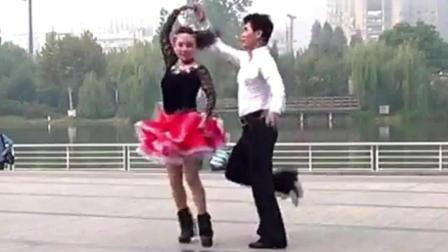 交谊舞 三步踩-第1套ABC《红山果》