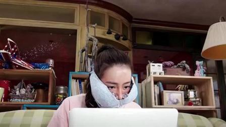 迪丽热巴为了恢复工作, 直接脱掉内衣装冰块敷脸止痛, 热巴招式辣眼了