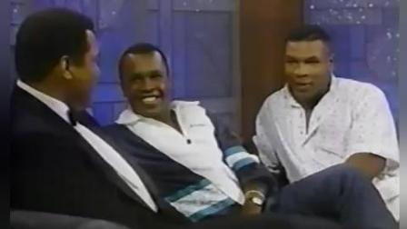 当拳王泰森碰到拳王阿里, 泰森变得跟个孩子一样!