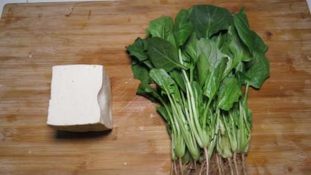 1块豆腐, 1把菠菜, 教你营养又简单的家常菜做法, 上桌就被抢光