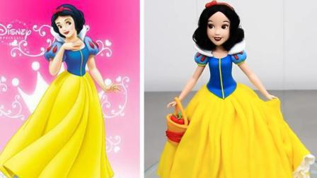 真实还原《白雪公主》蛋糕, 这是我见过超美的一款, 没有之一!