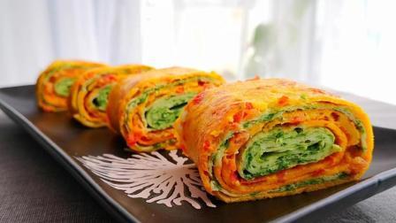 早餐最有营养的做法, 一个西红柿一把芹菜叶, 几分钟就做好