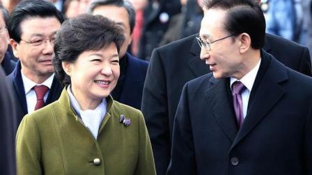听说李明博出事 朴槿惠沉默不语却对情况十分了解