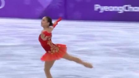 扎吉托娃花滑世锦赛出现失误 无缘大满贯