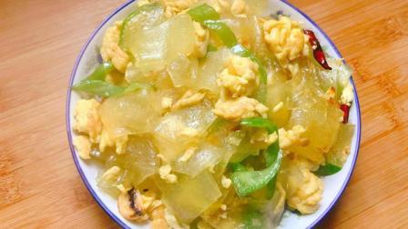 粉皮炒着吃 你吃过吗? 粉皮炒鸡蛋, 很好吃的一道家常炒菜