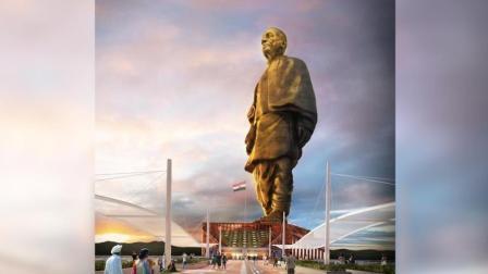 """印度拟建""""全球最高""""雕像 为自由女神像两倍"""