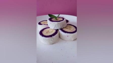 紫薯吐司卷, 无添加剂, 宝宝的最爱