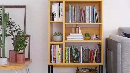 书架黯卓时尚书架落地书柜简约现代客厅置物架学生经济型书橱储物柜