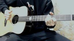梁博《危险》靠谱吉他蔡宁弹唱 卡马G1单板吉他 靠谱吉他乐器专营店