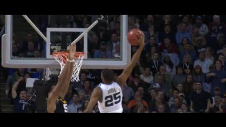 双手遮天拦网大帽飞扣! NCAA大学生上演年度最佳盖帽