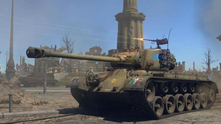 美军研发出二战后期强大的潘兴坦克, 还没有怎么使用, 战争就已经结束