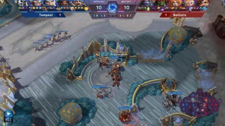 Tempest vs Ballistix 韩国风暴英雄HGC2018第六周第一日