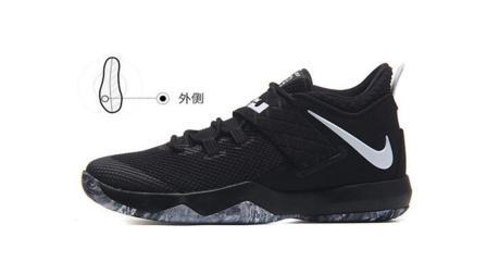 NIKE耐克男鞋2018新款詹姆斯使节10减震实战战靴运动篮球鞋