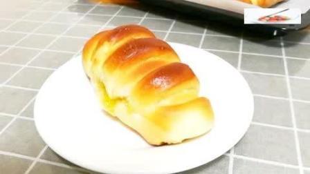 毛毛虫果酱面包的制作方法