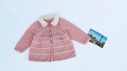 """六一儿童节的小公主礼物,原创零基础教程""""希望""""身片缝合花样"""