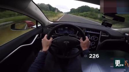 特斯拉上了德国不限速高速: 这速度你肯定没见过