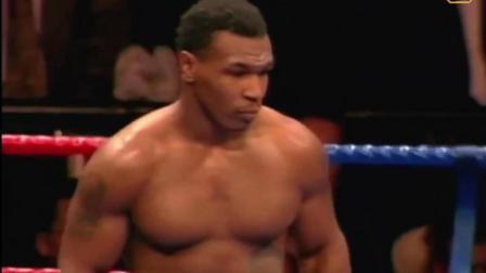 泰森最生猛的一场比赛一心想着击倒, 结果裁判和对手一起被KO