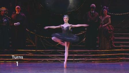 芭蕾舞《天鹅湖》黑天鹅经典fouetté 挥鞭转详解