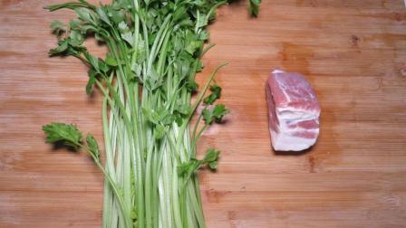 1把芹菜, 3两肉, 教你芹菜营养又下饭的做法, 越吃越想吃