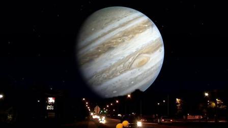 如果其他行星在月球的位置, 会是什么情形