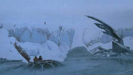 俗哥说电影, 美国科幻片《突变第三型》南极的冰层被炸开之后, 凶残的外星生物被释放