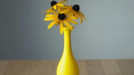 一个气球一根棍子就能做花瓶? 设计师: 足够了!