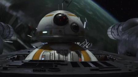 星球大战8, 开局就是飞船大战, 全程像在打游戏