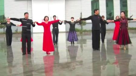 交谊舞 慢三《格桑花开》舞出让人赏心悦目的舞风!