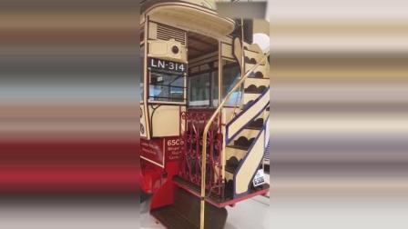 带你看世界第一辆双层巴士, 100年前由奔驰制造