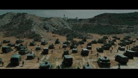 好莱坞经典科幻大片, 上千辆坦克一起开火, 何等壮观