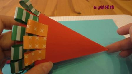 亲子早教儿童手工制作课程 一起来学习如何制作萌萌的圣诞树吧