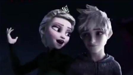 《冰雪奇缘》艾莎女王小时的男朋友原来是他, 背景音乐好听极了