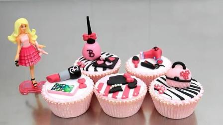 会令女生尖叫的礼物! 国外超火的芭比化妆品蛋糕, 这创意我给一百分!