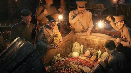 孙殿英因为挖了慈禧的坟墓, 最后下场如何?
