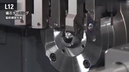 科技奇趣: 日本制造的15轴数控机床厉害了! 国产数控机床至少落后20年