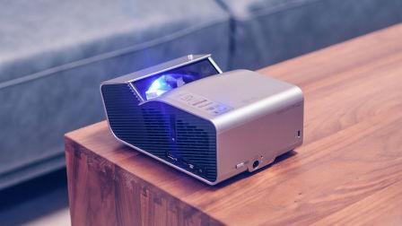 小户型的大影院 LG短焦投影仪PH450开箱上手
