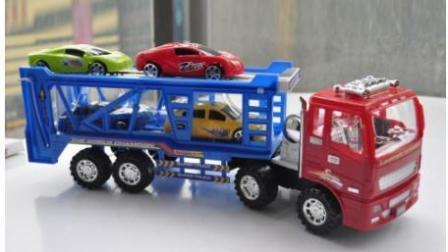 极速竞赛[12-16关】赛车总动员 挖掘机 推土机 大卡车 汽车总动员动画片国语版