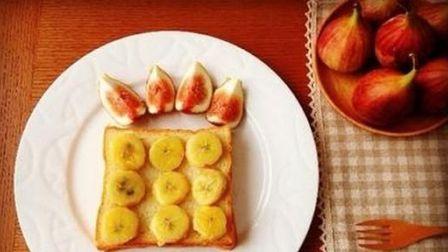 快捷早餐香蕉烤吐司