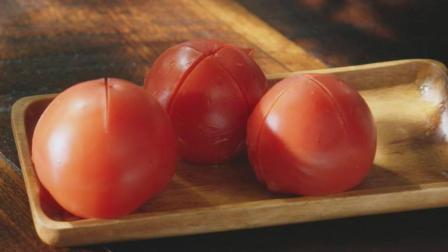 番茄火锅: 只有吃这道火锅时, 不爱吃肉, 偏爱喝汤!