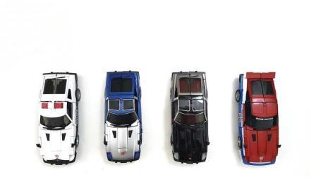 赛车玩具变身变形金刚