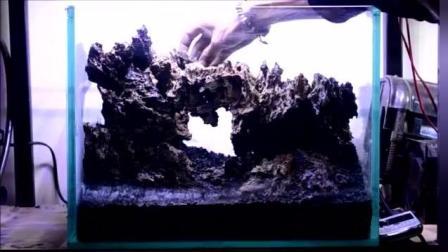 家居水景丨一个石门造景教学演示