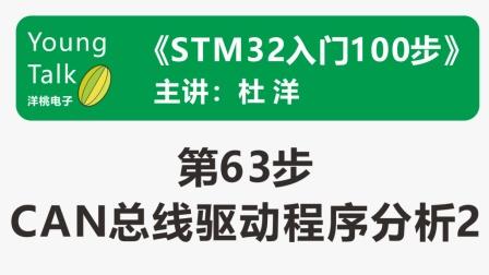 STM32入门100步(第63步)CAN总线驱动程序分析2