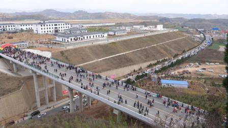 [卓尔影视]-陇南成县重大历史-陇南成县机场正式通航-数万人现场见证