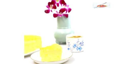 入口即化, 松柔绵软的酸奶蛋糕, 低糖无油的健康做法
