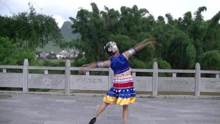 185-书童苑广场舞系列  飞向苗乡侗寨(苗侗族舞蹈)